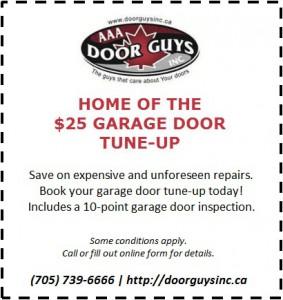 Book Your Garage Door Tune Up Today!