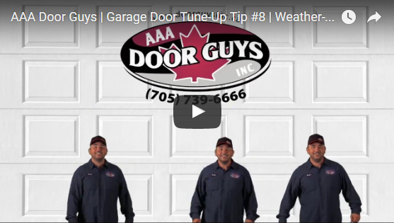Garage Door Tip #8: Weather-Stripping Must Be Free of Rips and Tears
