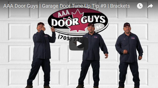 Garage Door Tip #9: Examine Brackets for Rust to Avoid Break Off
