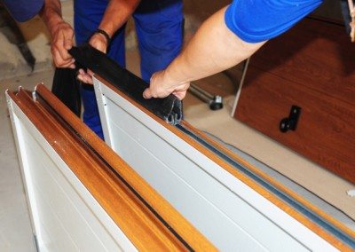 Insulated garage doors perform both of these tasks for your home