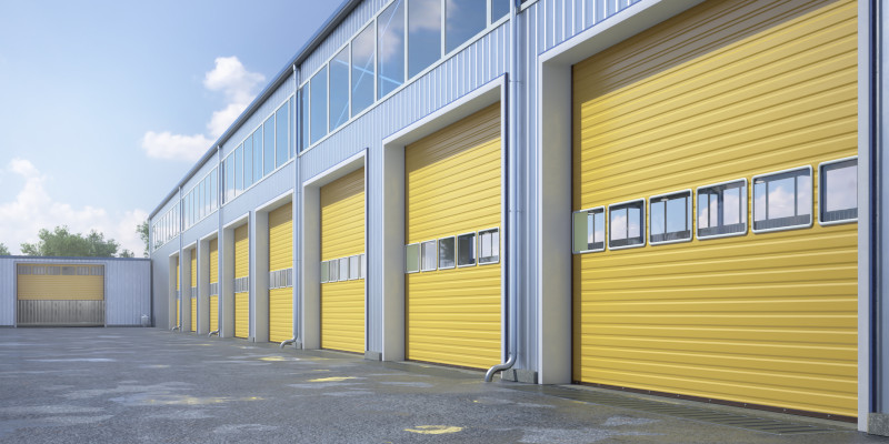 Commercial Rolling Steel Doors in Barrie, Ontario